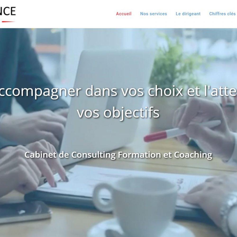 aperçu du site de synergence consulting